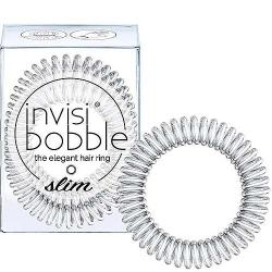 Invisibobble Slim Cristal Clear - Резинка для волос прозрачный, 3 шт