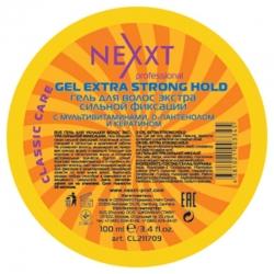 Nexxt Professional Gel Extra Strong Hold - Гель для укладки волос экстра сильной фиксации, 100 мл