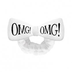 Double Dare OMG! Hair Band-White - Повязка косметическая для волос белая