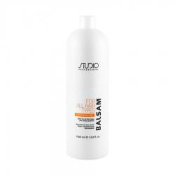 Kapous Professional Studio - Бальзам для всех типов волос с пшеничными протеинами 1000 мл