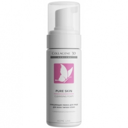 Medical Collagene 3D Pure Skin Cleansing Foam - Очищающая пенка для всех типов кожи 160мл