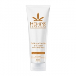 Hempz Tahitian Vanilla & Ginger Herbal Body Wash - Гель для душа Имбирь и Ваниль Таити, 237 мл