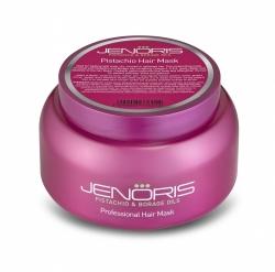 Jenoris Pistachio Hair Mask - Маска Восстанавливающая для сухих и поврежденных волос с фисташковым маслом 250 мл
