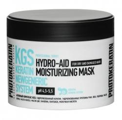 Protokeratin Hydra Aid Moisturizing Mask - Маска экспресс увлажнение для жестких сухих волос 250 мл