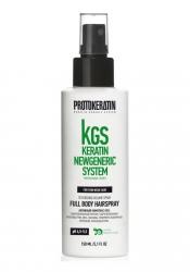Protokeratin Full body hairspray - Спрей для объема и текстуры тонких волос, 150 мл