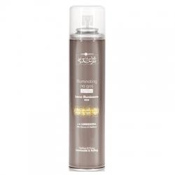 Hair Company Inimitable Style Illuminating Medium Spray No Gas - Спрей без газа, придающий блеск. Средней фиксации, 300 мл