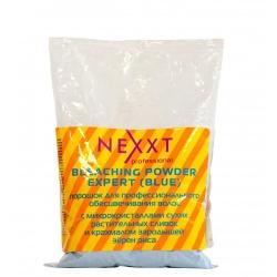 Nexxt Professional Bleaching Powder Expert - Осветляющий порошок голубой в пакете, 500 гр
