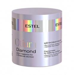 Estel Otium Diamond - Шёлковая маска для гладкости и блеска волос, 300 мл