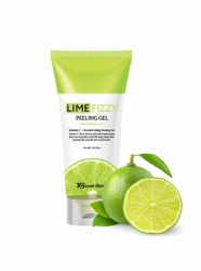 Secret Skin Lime Fizzy Peeling Gel - Гель-скатка с экстрактом лайма 120мл
