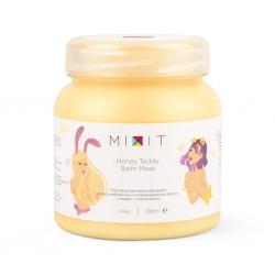 MIXIT Honey Teddy Balm Mask - Питательная маска-бальзам для ослабленных волос, 280мл