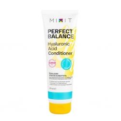 MIXIT Perfect Balance Hyaluronic Acid Conditioner - Бальзам-ополаскиватель для совершенства волос и поддержания естественного баланса кожи головы, 275 мл