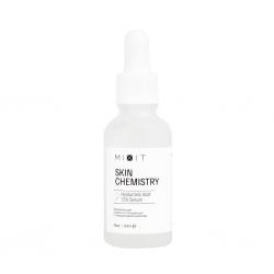 MIXIT SKIN Chemistry Lactic Acid 5%+HA Serum - Отшелушивающая сыворотка с молочной и гиалуроновой кислотами, 30 мл