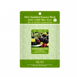 Mijin Essence Olive Squalane Essence Mask - Маска тканевая олива, 23 г