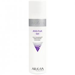 Aravia Professional - Гель очищающий с фруктовыми кислотами AHA - Fruit Gel, 250 мл