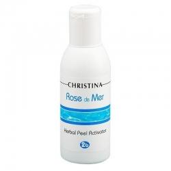 Christina Rose de Mer 2b Herbal Peel Activator – Лосьон-активатор для разведения порошка, 120 мл
