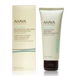 Ahava Time To Smooth Age Perfecting Hand Cream SPF15 - Противовозрастной крем для рук, 75 мл