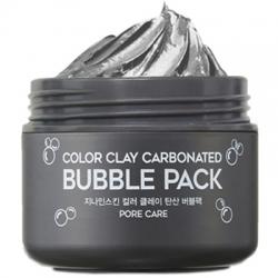 Berrisom G9 Skin Color Clay Carbonated Bubble Pack - Маска для лица глиняная пузырьковая, 100 мл