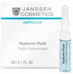 Janssen Cosmetics Hyaluron Fluid - Ультраувлажняющая сыворотка с гиалуроновой кислотой, 2 мл
