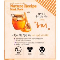 Secret Key Nature Recipe Mask Pack Honey - Маска тканевая с медом, 20 г