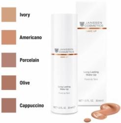 Janssen Cosmetics Long Lasting Make-up 03 - Стойкий тональный крем с SPF 12  (Капучино), 30 мл