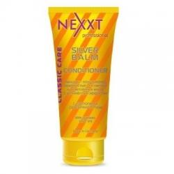Nexxt Professional Classic Care Silver Balm Conditioner - Бальзам-кондиционер серебристый с антижелтым эффектом, 200 мл