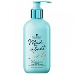 Schwarzkopf Mad About Curls High Foam Cleanser - Очищающий крем-шампунь для волос, 300 мл