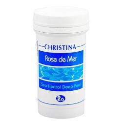"""Christina Rose de Mer 2а Sea Herbal Deep Peel – Натуральный пилинг """"Роз де Мер"""" (порошок) 100 мл"""