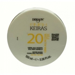 Dikson Keiras Cera All' Acqua Gialla No Fix 20 - Аква-воск с ароматом лимона Water Based Fixing Wax For Hair, 250 мл