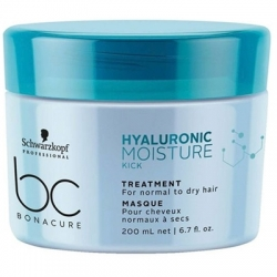 Schwarzkopf BC Bonacure Hyaluronic Moisture Kick.Treatment - Маска для волос, 200 мл