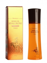 Deoproce Horse Oil Hyalurone Toner - Тонер с лошадиным жиром и гиалуроновой кислотой, 150 мл