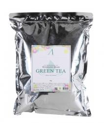Anskin Grean Tea Modeling Mask - Маска альгинатная с экстрактом зеленого чая, 1000 мл