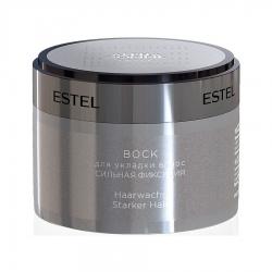 Estel Alpha Homme PRO - Воск для укладки волос сильная фиксация, 65 мл