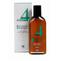 Sim Sensitive System 4 Therapeutic Climbazole Shampoo 1 - Терапевтический шампунь № 1 для нормальной и жирной кожи головы 500 мл
