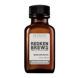 Redken Brews Beard and Skin Oil - Масло для бороды и кожи лица 30 мл