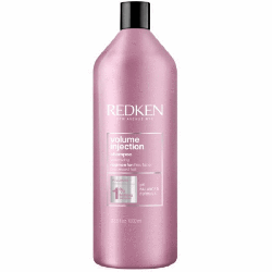 Redken Volume Injection Shampoo - Шампунь для объёма и плотности волос, 1000 мл