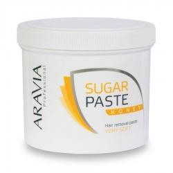 """Aravia Professional - Сахарная паста для депиляции """"Медовая"""" очень мягкой консистенции, 750 г"""
