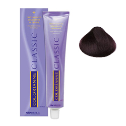 Brelil Крем-краска COLORIANNE CLASSIC Крем-краска Colorianne (Светло-каштановый ирис интенсивный) 5.22