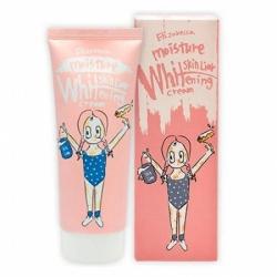 Elizavecca Skin Liar Moisture Whitening Cream - Крем для лица осветляющий, 100 мл