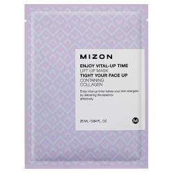 Mizon Enjoy Vital-Up Time Lift Up Mask - Маска листовая для лица с лифтинг эффектом