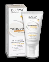 Ducray Melascreen - Меласкрин Легкий крем с фактором защиты SPF 50+, 40 мл