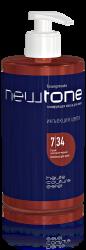 Estel NewTone - Тонирующая маска для волос 7/34 (русый золотисто-медный), 435 мл