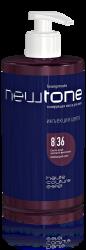 Estel NewTone - Тонирующая маска для волос 8/36 (светло-русый золотисто-фиолетовый), 435 мл