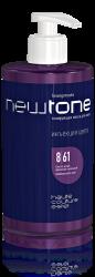 Estel NewTone - Тонирующая маска для волос 8/61 (светло-русый фиолетово-пепельный), 435 мл