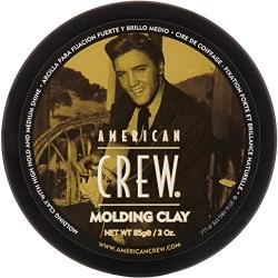 American Crew King Classic Molding Clay - Формирующая глина сильной фиксации со средним уровнем блеска для укладки волос 85 г