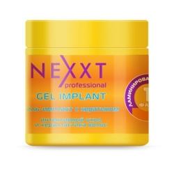 Nexxt Professional Gel Implant - Гель-имплант интенсивный уход и керапластика волос 1 фаза, 500 мл