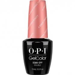 Opi GelColor A Great Opera-tunity, - Гель-лак для ногтей, 15мл