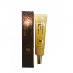 Deoproce Whitening & Anti-Wrinkle Snail BB Cream SPF50+ - Крем ББ с экстрактом улитки, 40 мл