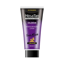 MegaTan Sexy black intense bronzing + Bronzer - Лосьон для загара интенсивный, 150 мл
