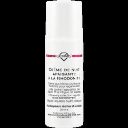 Gemmis Créme de Nuit apaisante à la Rhodonite - Родонитовый ночной крем для чувствительной кожи, 50 мл