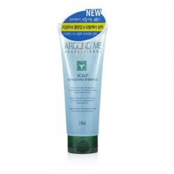 Welcos Around Me Professional Refreshing Shampoo - Шампунь для волос и кожи головы тонизирующий, 230 мл